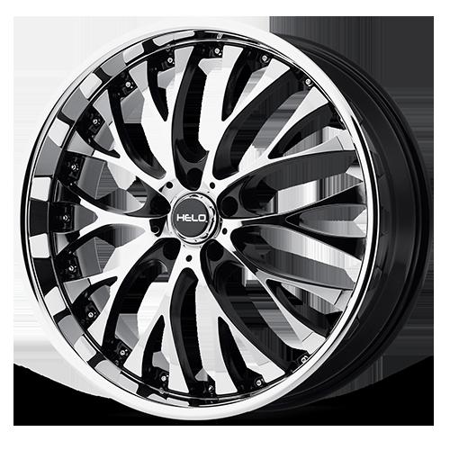 Helo HE851 Gloss Black Wheel With Machined Face (22x8.5 /5x112mm) Модель - фото 4
