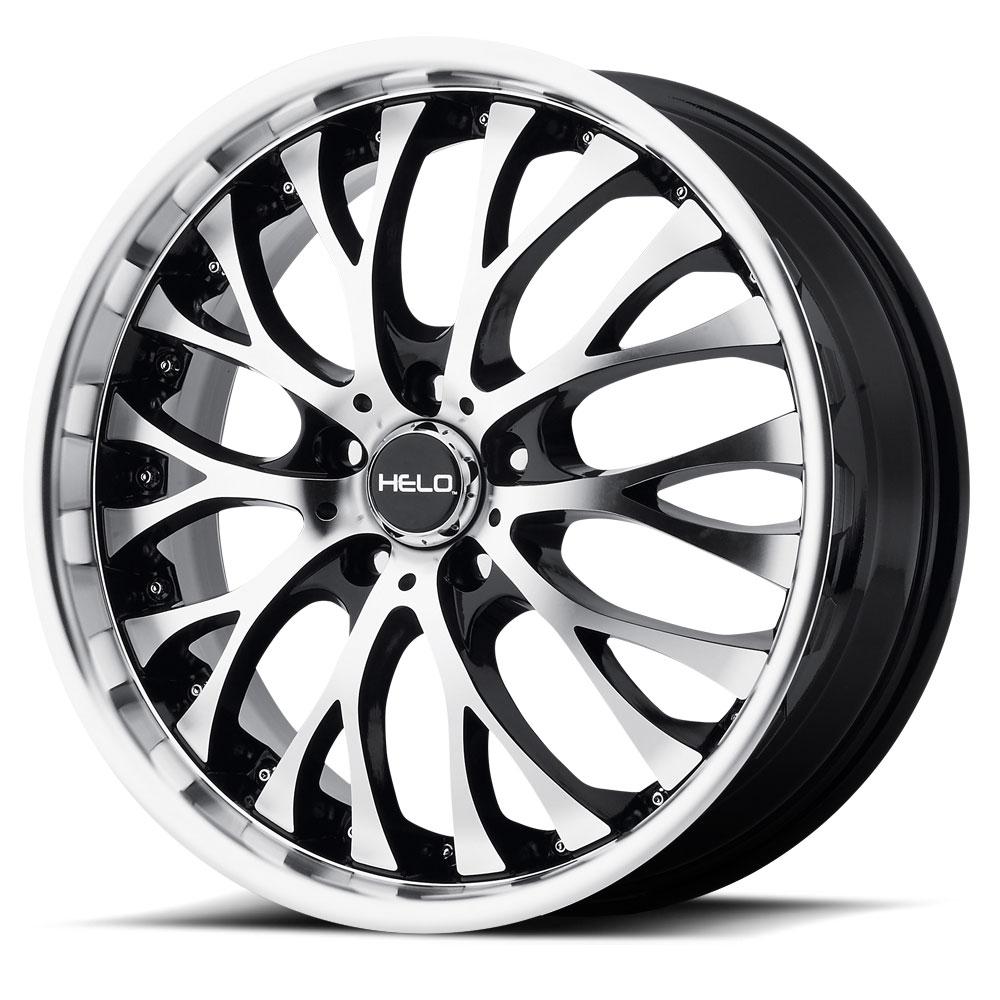 Helo HE851 Gloss Black Wheel With Machined Face (22x8.5 /5x112mm) Модель - фото 2